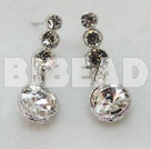 dangling style manmade rhinestone earrings under $2.5