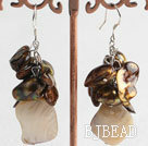 Pearl crystal earring under $ 40