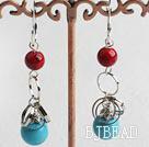 turquoise alaqueca earrings under $ 40