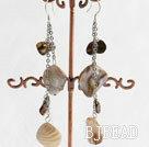 Pearl shell earring