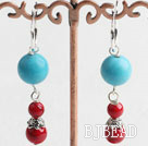 cute turquoise and alaqueca earrings