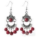 bloodstone earring