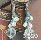 Crystal Pearl Earring