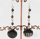 tiger's eye earrings