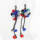 colorful crystal earrings under $4
