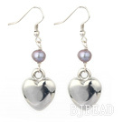 dyed pearl tibet silver earrings under $ 40