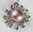 lovely purple pearl pendant( no chains)