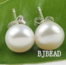 9.5-10mm fresh water pearl studs