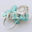 fashion turquoise ring