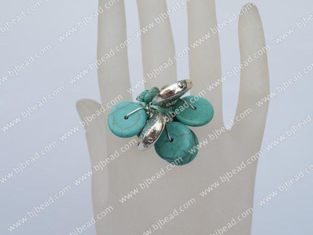 fashion turquoise ring