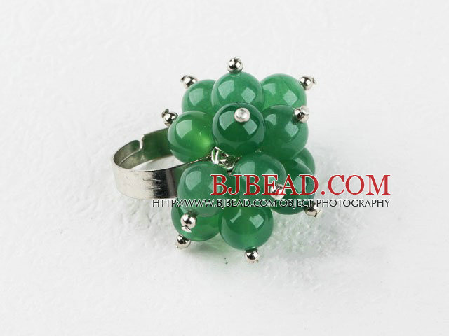 aventurine jade finger ring