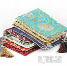 Multi Color Big Style Rectangle Shape Card Bags (10 Pcs Color Random)
