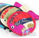 Multi Color Fish Shape Jewelry Bags (10 Pcs Color Random)