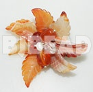elegant and hot agate flower brooch under $ 40