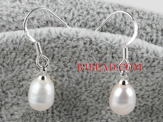 cultured fresh water pearl drop earring