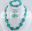 manmade crystal colored glaze set under $ 40