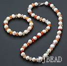 pearl and agate sets