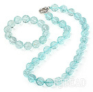 crystal necklace/bracelet set
