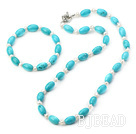 turquoise pearl set