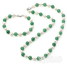 aventurine pearl set under $12