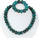 12-16mm popular phoenix stone necklace bracelet set