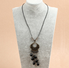 fashion multi color crystal neckalce