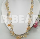 pearl and citrine necklace under $ 40