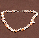 Special Design Multi Color Natural Freshwater Pearl Necklace