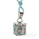 make a wish box necklace with lobster clasp