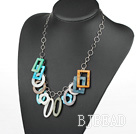 party jewerly colorful shell necklace under $ 40