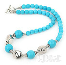 hot and fashion turquoise necklace