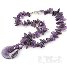 Amethyst necklace under $14