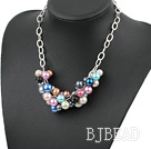 popular colorful acrylic necklace under $ 40