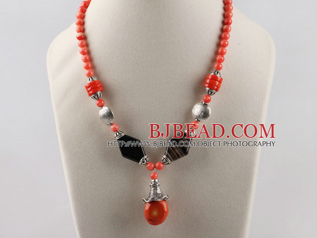 fashion coral necklace