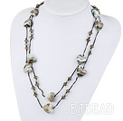 fashion jewelry crystal and colored glaze heart necklace under $ 40
