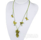 South Korea jade necklace with extendable chain under $7