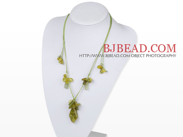 South Korea jade necklace with extendable chain