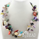 Assorted Multi Color Multi Stone Necklace under $ 40