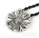 Kontted tibet silver pendant necklace