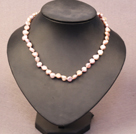 White and Black Freshwater Pearl Necklace