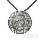 tibet silver pendant necklace