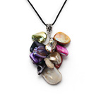 dyed colorful shell with extendable chain under $ 40