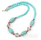 turquoise alaqueca necklace
