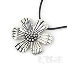 17.5 inches simple tibet silver pendant under $2.5
