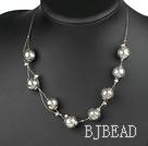 imitation silver necklace