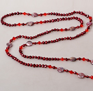 Simple Style Branch Shape Red Coral Necklace