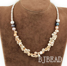 17.5 inches renewable pearl necklace with lobster clasp under $14