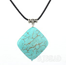 turquoise pendtant/necklace with extendable chain