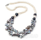 17.5 inches renewable pearl necklace with lobster clasp
