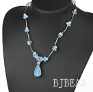 fashion style hot opal necklace